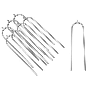 Upper Bounce Trampoline Wind Guard Anchors - Set Of 8 - Ubhwd-As-8 - Trampoline Accessories