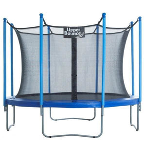 Upper Bounce® 10 Trampoline & Enclosure Set - UBSF01-10 - Round Trampolines