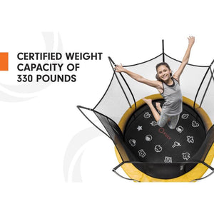 Vuly Round Trampoline LIFT Extra Large 14ft - BVL1420 - Round Trampolines