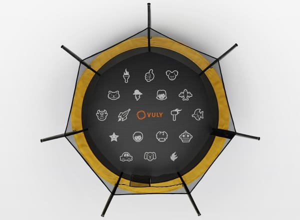 Vuly Round Trampoline LIFT Large 12ft - BVL1220