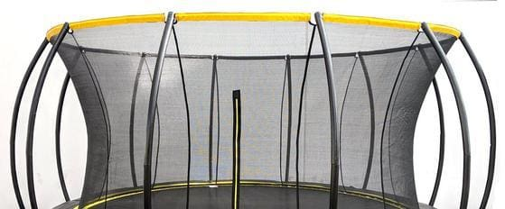 Round Trampoline SkyBound Stratos 15 ft Top Ring Enclosure -SB-T15STR02