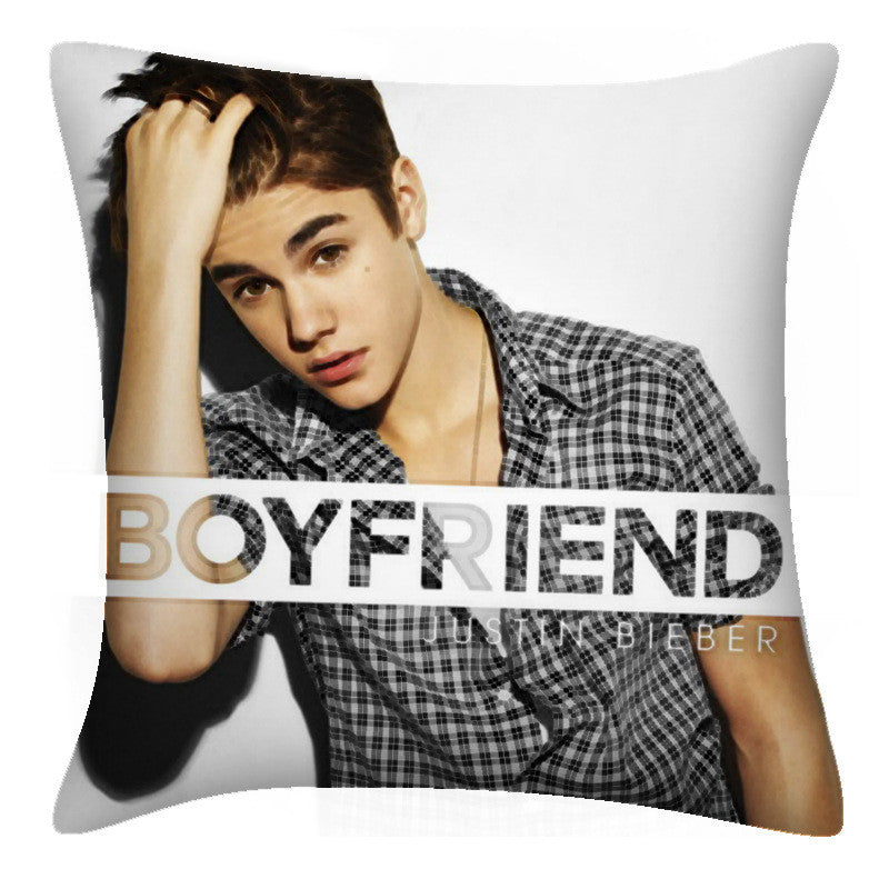 Justin Bieber Double-sided pillow - StylrPlus - front