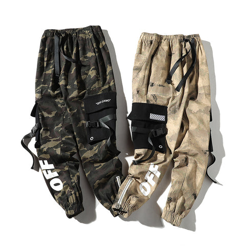 Hot camo street style joggers pants