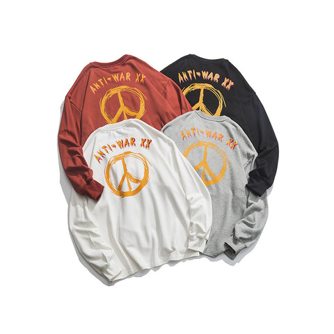 N3 ANTI WAR Long-sleeve sweater