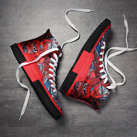 Original Red Brave Sneakers
