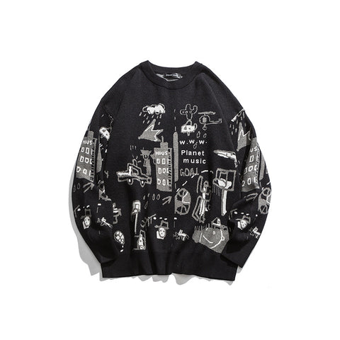 DJ Cartoon Sweaters