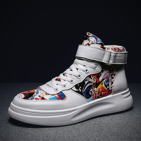 Peking Opera mask sneakers