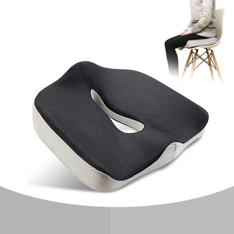 Travel Breathable Seat Cushion Coccyx Orthopedic Memory Foam U-Shape Seat Cushion