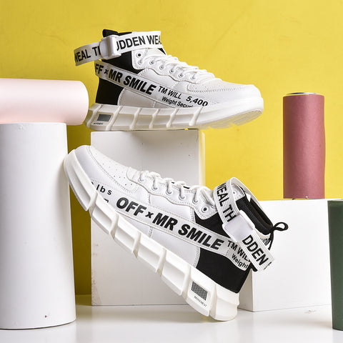 Off Mr Smile Sneakers
