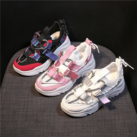 Chic Silk ribbon Sneakers