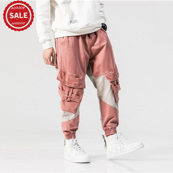 Deals| N3 pink and gray cargo pants