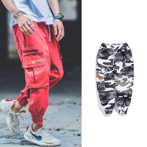 Hip-hop casual jogger pants