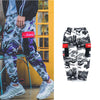 Camo hip-hop pants