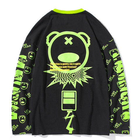LAM Original x panda long-sleeve shirt