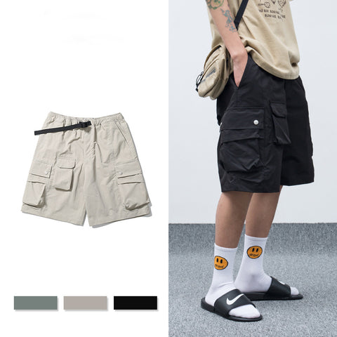 Pure color short pants 2020