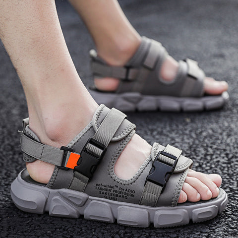 Deals|summer pure color Sandals