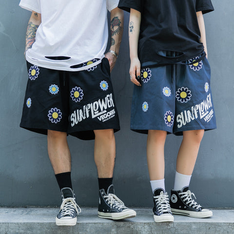VEGORRS Sun Flowers short pants