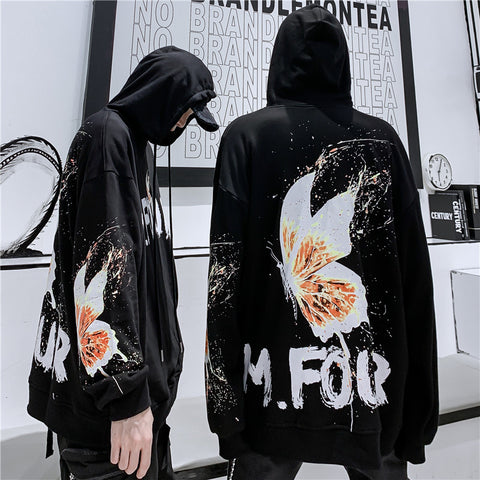 Mr Four butterfly hoodies