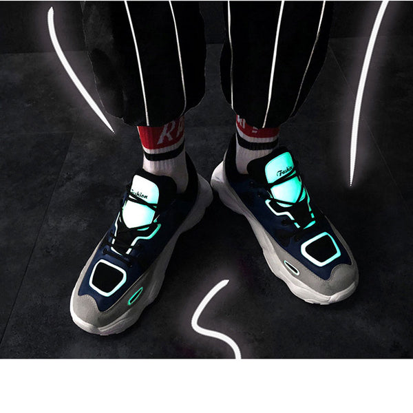 Chic  Reflective sneakers