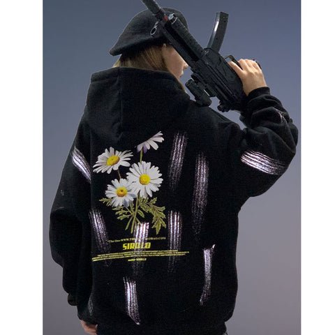 The one flower hoodies
