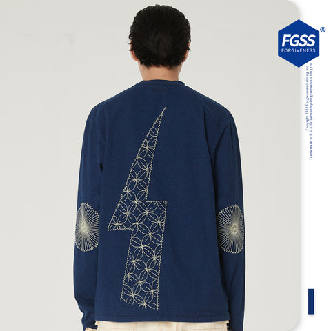 FG Old fashion jeans sweater