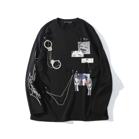TKPA Handcuffs Long-sleeve shirt