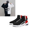 Mr smile Sudden Wealth Sneakers with white smile hoodies