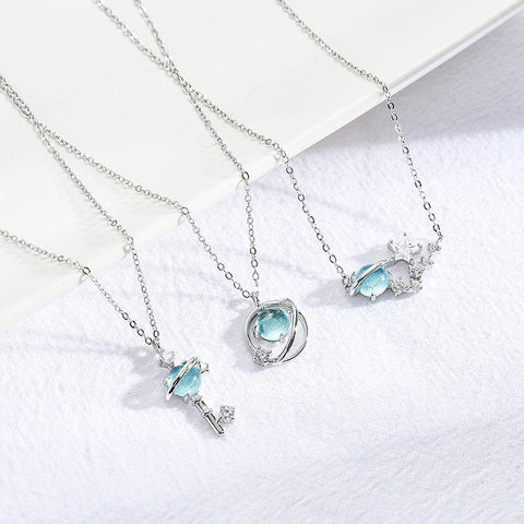 Love Starry sky Necklace (1 set)