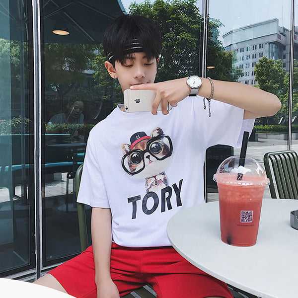 HOMME cute tory t-shirt