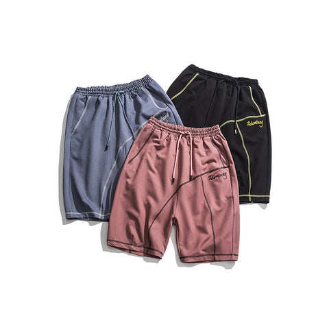 N3 2019 Pure color sport short pants