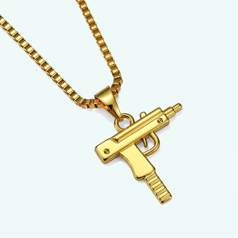 NYUK Pistol Necklace