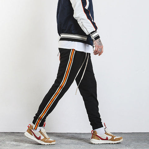 INF color tape pants