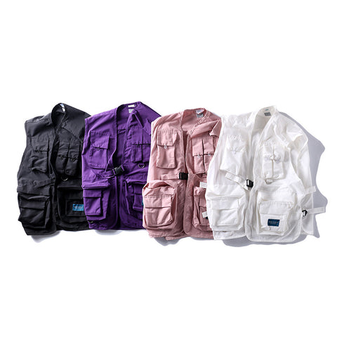 TKPA  Pure color Vest