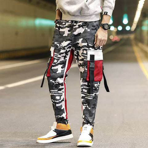 YY Camo big pocket pants