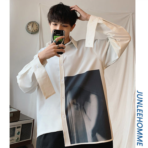 Homme white shirt