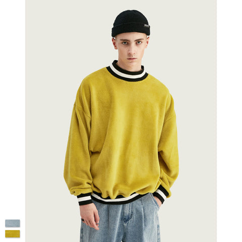 FV Pure color oversize hoodies