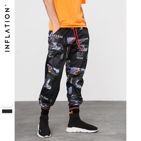 INF 2018 F/W Printing men's joggers/pants