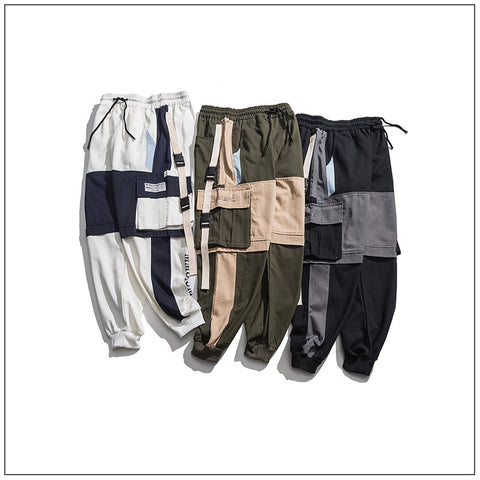 N3 2019 Chic pocket tape pants