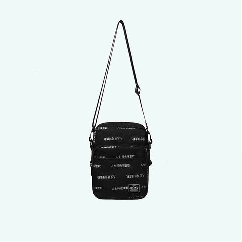 INF Chinese characters sling bag