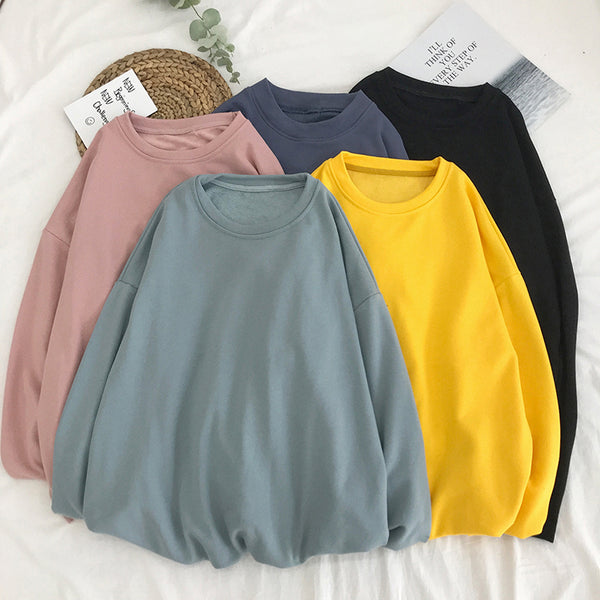 Homme pure color sweater