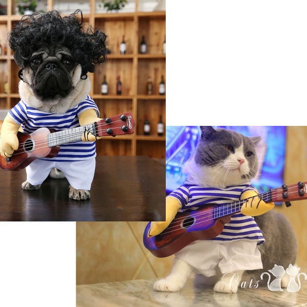 Rock on the way Pet clothing