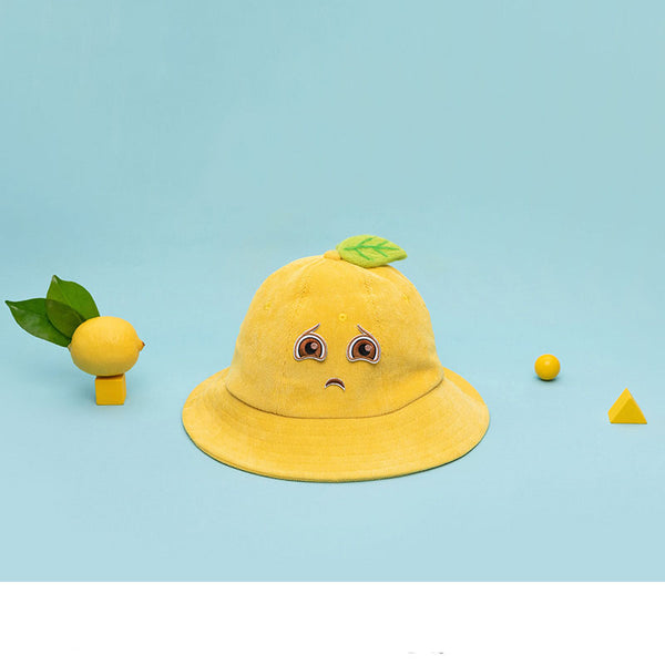 Love  lemon summer hat