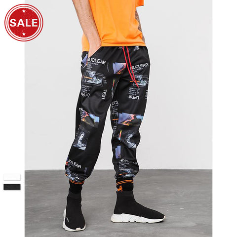 Chic Printing men's joggers/pants