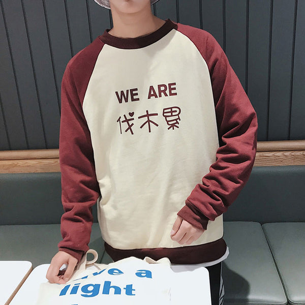 HOMME We are Family sweater