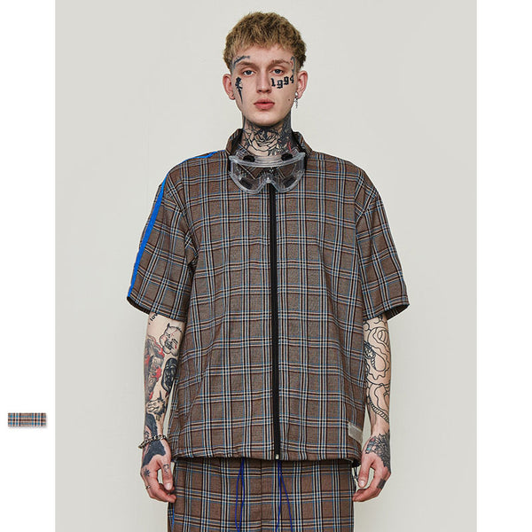 Hot fashion check shirt