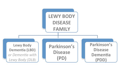 Lewy Body Disease Family Org Chart