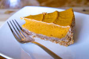 The Best Vegan Pumpkin Pie Ever!