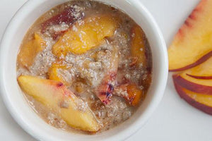 Raw Vegan Peach Cobbler