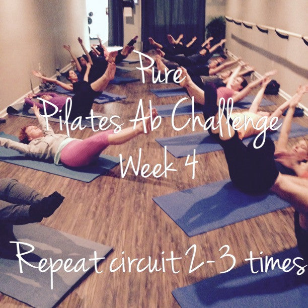 Pure Pilates Ab Challenge Week 4