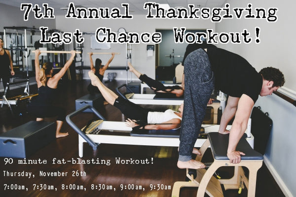 Thanksgiving Last Chance Workout